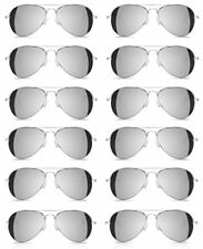 Lot of 12 Sunglasses Job Wholesale Party Pack Shades Resell Aviator