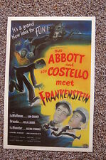 Abbott & Costello Meet Frankenstein #2 Lobby Card Movie Poster