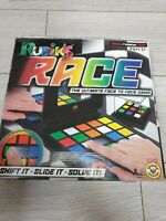 Rubiks Race Puzzle Board Game Rubix Race Mind Game Puzzle Kids Toy Gift Vintage