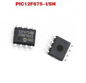 10 PCS PIC12F675 PIC12F675-I/SN SOP8 MICROCHIP MCU CMOS FLASH-BASE 8BIT