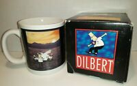 "Dilbert by Scott Adams ""Excellence"" UN-Motivational Collectible Coffee Mug"