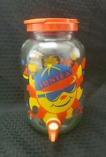 Suntea Canister Vintage Glass Colorful Bright Bold
