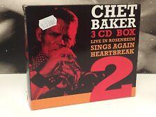 CHET BAKER - WITH STRINGS / SINGS AGAIN / LIVE ROSENHEIM 3 CD BOX VOL.2 TIMELESS