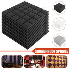 5x-500x500x50mm Acoustic Foam Panel Soundproof Absorption Sponge ForStudio.