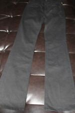 7 Seven For All Mankind High Waist Boot Cut Denim Black Stretch Jeans Size 27 4