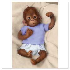 Ashton Drake - Jojo So Truly Real Baby Monkey Doll by Linda Murray