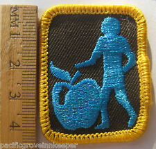 Girl Guide Canadian 1990's Brownie HEALTHY LIFESTYLES OUTLOOK BADGE Patch Canada