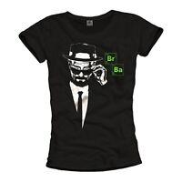 Heisenberg Damen T-Shirt Walter Top Breaking Bad Pinkman Girls Los Pollos Swag