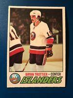 1977-78 O-Pee-Chee OPC Bryan Trottier #105  Ex-Mt     (Item F)