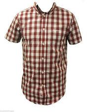 Ben Sherman Men's Check Short Sleeve Collared Casual Shirts & Tops