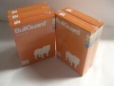 BullGuard AntiVirus Software, BG1347,    UPC:  812878011336, Lot of 5