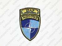 Parche bordado ISAF Nato-Otan