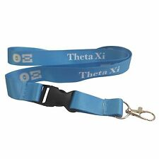 Theta Xi Lanyard With Buckle - Licensed Vendor