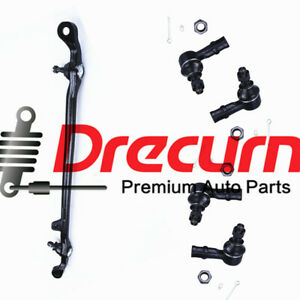 Scitoo 6Pc Upper Ball Joint Inner Outer Tie Rod Ends Front Steering fit Isuzu Trooper 4WD 1995-2002