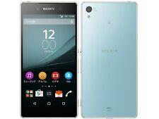 AU KDDI SONY SOV31 XPERIA Z4 ANDROID 6.0 PHONE SMARTPHONE UNLOCKED JAPAN AQUA