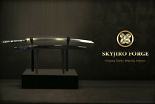 TENKU ANCIENT IRON WARRIOR JAPANESE NIHONTO DAMASCUS KATANA SWORD KENJUTSU