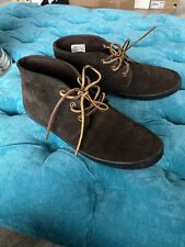 Polo Ralph Lauren Erwin Brown Suede Mens Ankle Boots UK8 EU42 US9