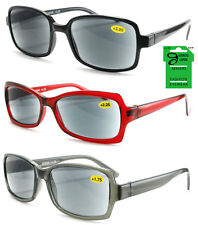 Wholesale Lot of 12 LADIES SUN READERS Reading Glasses and Sunglasses in 1