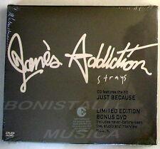 JANE'S ADDICTION - STRAYS - CD + Bonus DVD  Limited Edition Sigillato