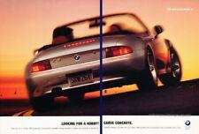 1997 BMW Z3 Roadster Original 2-page Advertisement Print Art Car Ad K52