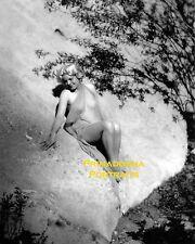 "JEAN HARLOW 8X10 Lab Photo ARTFUL POSE SEXY Photographer ""EDWIN BOWER HESSER"""
