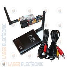 Kit Trasmettitori Wireless 5.8Ghz. 8CH Alta Potenza Lungo Raggio 500mW 1000mt