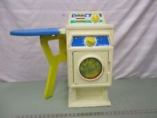 Fisher Price Pretend Play Fun with Food laundry center washing dryer iron board