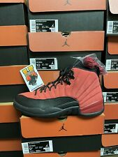 "2020 Nike Air Jordan 12 Retro ""Reverse Flu Game"" CT8013-602 Varsity Red Sz:3Y-13"