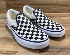 Vans Black White Checkerboard Slip On Shoes Skate Surf Mens 5.5 Womens 7