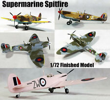 WWII Supermarine Spitfire aircraft 1/72 finished plane Easy model collection Lot