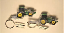 Lot of 2 NEW John Deere 8R Tractor Key Chain by Tomy TBE45322