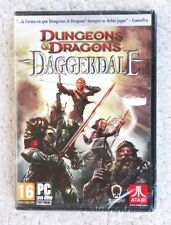 PC DVD-ROM GAME: DUNGEONS & DRAGONS (DAGGERDALE). JUEGO ATARI, BRAND NEW, SEALED