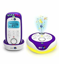 BT 350 Digital Baby Monitor With Lightshow and 18 Lullabies 12mths War