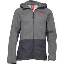 Brand New Nike Mens Futura Logo Mixed Fabric Hooded Windrunner Size Small