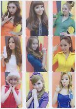 Girls Generation Snsd Sosi Card Yoona TaeYeon Jessica Unofficial series 1