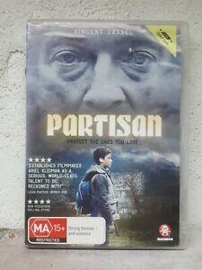 Partisan (DVD, 2015)  Vincent Cassel, Jeremy Chabriel Thriller Movie - EX-RENTAL
