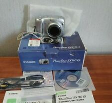 Canon PowerShot SX110 IS 9.0MP 10X Zoom Digital Camera contents tested