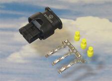 1x Stecker 3C0973203 je. 3x MCON Kontakt 3x Dichtungen für PDC VW Audi Seat BMW