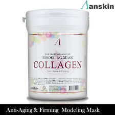 AnSkin Modeling Mask powder,pack,Collagen,Brightening,anti-aging,facial skincare