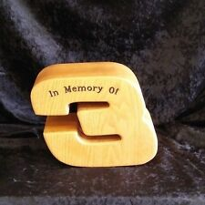 wood cremation urn adult size free engraving made in the usa