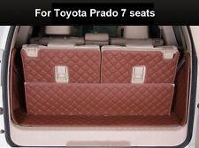Cargo Trunk Boot Liner Mat For Toyota Prado 7 seats 2010-2016 Waterproof Carpet