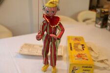 PELHAM PUPPETS CLOWN SS TYPE COLLECTORS QUALITY IN EXCELLENT EARLY  ORIGINAL BOX
