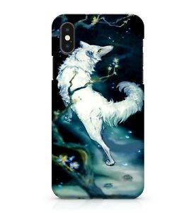 Magical Fluffy Snow White Coloured Super Powerful Jungle Wolf Phone Case Cover