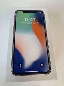 Original iPhone X empty box 256GB
