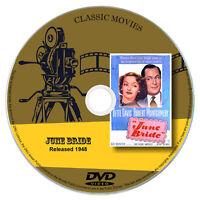 June Bride 1948 Classic DVD Film - Comedy
