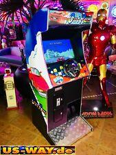 Crg2 Clásico Arcade de Carreras Tv Vídeo Máquina Tragaperras Pie Fahrsimulator
