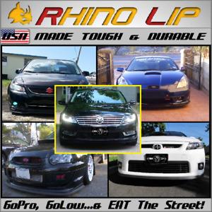 VW e-Up! e-Golf Golf-R Scirocco-R Corrado Spoiler Splitter Rubber Chin Lip Trim