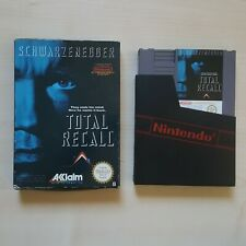 Total Recall in OVP Nintendo NES Spiel Modul PAL B