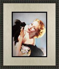 Alberto Vargas Marlene Dietrich Custom Framed Print FREE SHIPPING