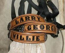 Custom Personalized Bronc Halter,Your Horses Name, Award, Stable, Ranch... G&E
